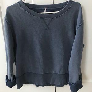 Free People vintage style crewneck sweater